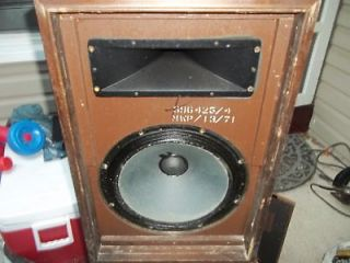 RARE MAGNAVOX WOOFERS HORN LOADED TUBE SPEAKERS TWEETER