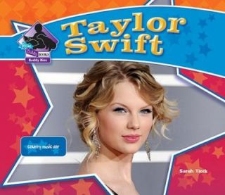 Taylor Swift Country Music Star Big Buddy Biographies Set 3 by Sarah
