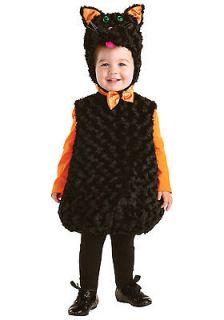 Black Cat Halloween Costume   Toddler Size X Large 4 6