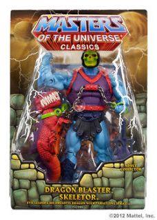 DRAGON BLASTER SKELETOR Masters if the Universe Classics MOTU SEALED