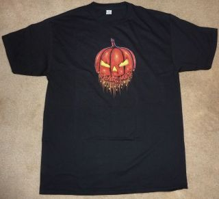 2012 PEARL JAM TEN CLUB HALLOWEEN T SHIRT LIMITED EDITION SIZE LARGE