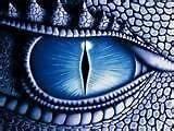 Blue Eyed Dragon Cross Stitch Pattern
