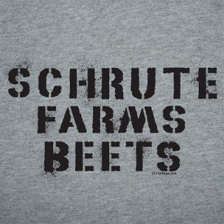 Dwight Schrute Farms Beets The Office Shirt funny S