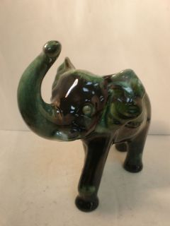 blue mountain pottery elephant