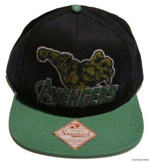 Avengers Movie Incredible Hulk Marvel Officially Licensed Snapback Cap