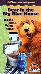 BEAR IN THE BIG BLUE HOUSE Potty Time With Bear VHS Video Tape