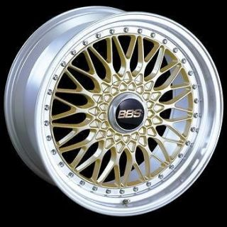 BMW E60 M5/ E9X M3 BBS Super RS wheels 19 Gold