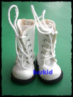 SALE Blythe Pullip 1/6 12 Doll WHITE Shoes Boot
