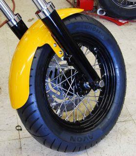 Front Fender for 41mm FLH Style Legs, Dresser, Bagger, Harley Davidson