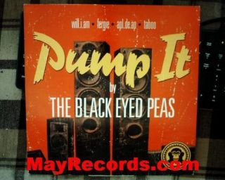 The Black Eyed Peas   Pump It EU 12 LP 9851973