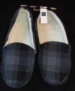 New NWT Gap mens winter slippers shoes 7/8 9/10 11/12