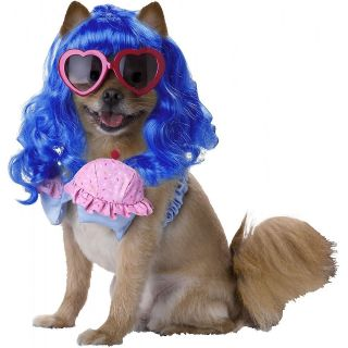 California Girl Pet Pop Star Katy Perry Diva Halloween Dog Costume