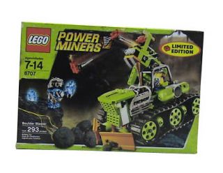 Lego Power Miners Boulder Blaster 8707