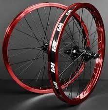 red bmx wheels in BMX Bike Parts
