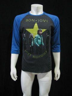 BON JOVI LOST HIGHWAY 2008 Concert Tour T Shirt Mens XL