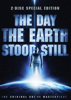 The Day the Earth Stood Still DVD, 2008, 2 Disc Set, Canadian