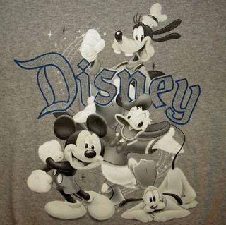 MICKEY MOUSE DISNEY CARTOON SHIRT Donald Duck Goofy Pluto Animation M
