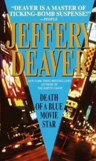Death of a Blue Movie Star by Jeffery Deaver 2000, Paperback