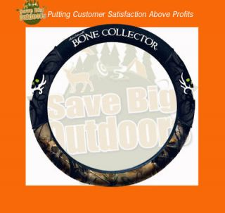 NEW Bone Collector Camo Steering Wheel Cover   FREE Ship   Ford Chevy