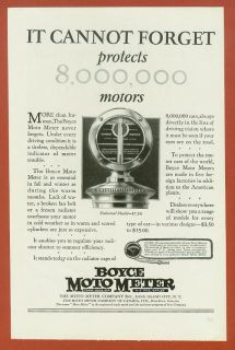 1926 Boyce Moto Meter Ad   Universal Model Featured