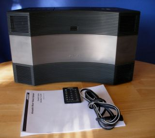 60 day warranty* Bose Acoustic Wave Music System CD 3000, Excellent