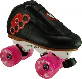 Vanilla Brass Knuckle Avenger Atom Pulse Roller Derby Speed Quad