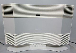 Bose Acoustic Wave Music System Model CD 3000 W/ AWMS Pedestal PD 2