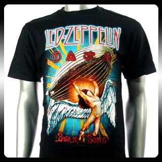 Led Zeppelin Metal Rock Punk Band T shirt Sz XL Biker Rider Le9