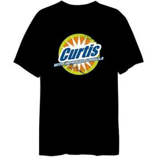 Curtis With Improved Formula Male Names T Shirt Black