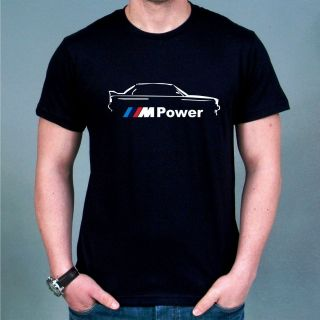 Racing BMW M Power Logo T shirt all sz S XXXL MOMO Brembo Recaro