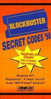 Secret Codes 98 by Brady Games Staff 1997, Paperback