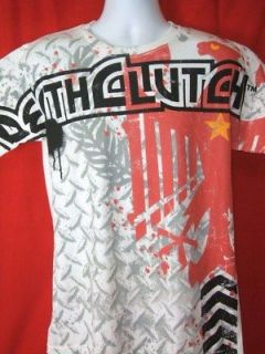 DEATH CLUTCH Eagle Premium White T shirt NEW