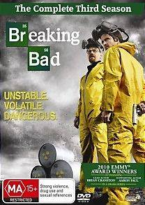 breaking bad season 3 dvd in DVDs & Blu ray Discs