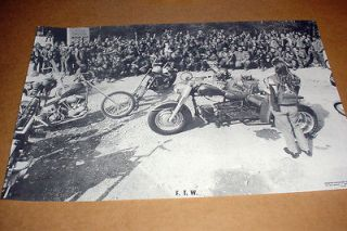 BIKER POSTER 24X16 TEXAS BANDIDOS MC CLUB (b)