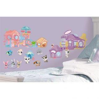 LITTLEST PET SHOP wall stickers 32 decals Animal room decor
