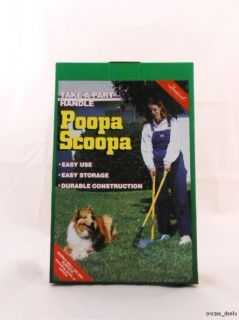 Bromwell Poopa Scoopa Pooper Scooper Pet Dog Doggy Waste Cleanup Tool
