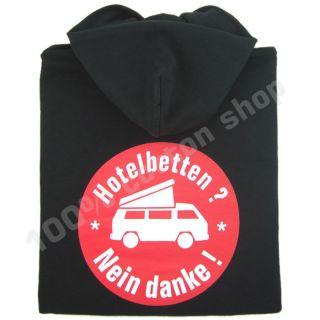VW Nein Danke Bus Bulli T1 T2 T3 Camper Van Motorhome