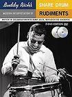 Buddy Richs Modern Interpretation of Snare Drum Rudiments by Ted