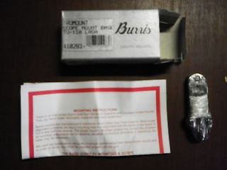 BURRIS Black TRUMOUNT Scope Mount BASE For Savage 110 With