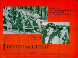 BUSTER AND BILLIE 1974 Jan Michael Vincent, Pamela Sue Martin UK QUAD