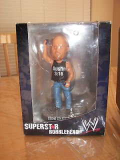 Stone Cold Steve Austin Collectible LIMETED EDITION Bobble Head ~ NIB
