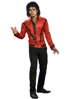 BuySeasons 65799 Michael Jackson Red Thriller Jacket Adult Costume