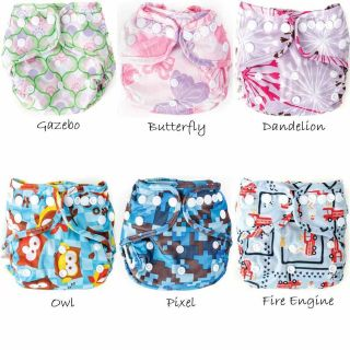 Bumkins Cloth Diaper Cover with Snaps   Newborn
