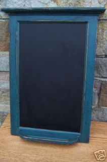 CUSTOM PRIMITIVE COUNTRY COTTAGE CHALKBOARD /18 COLORS