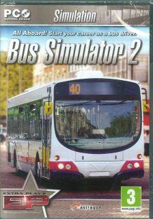 Bus Driving Simulaor 2, 12 Realisic Ariculaed & Double Decker