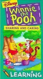 Disney Winnie The Pooh Sharing & Caring VHS Video Kids