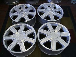 CADILLAC ESCALADE 18X8 FACTORY OEM 6 LUG ALLOY WHEELS RIMS 5303