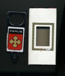 Vintage Camus Bottle Opener W/Box Cognac Liquor Cognac Mint Souvenir