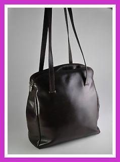 BROWN Vegan Leather ROOTS Handbag  Espresso Vintage TRAVELLING BAG