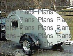 Best Teardrop Camper Trailer Plans Available! Trailer Plans, Teardrop